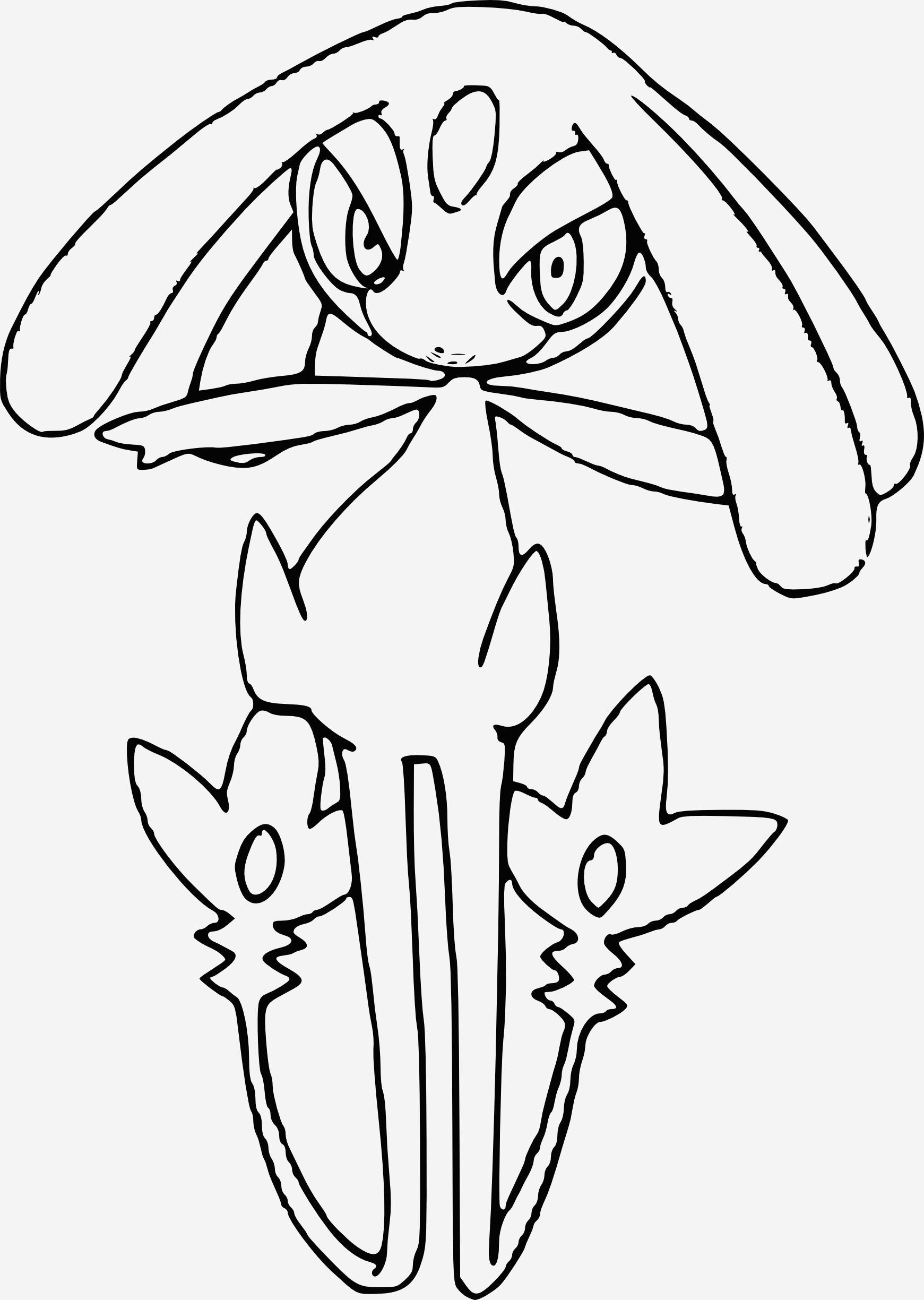 Coloriage à Imprimer Pokemon Legendaire Beautiful Coloriage Crefollet Pokemon Légendaire   Imprimer Of Coloriage à Imprimer Pokemon Legendaire