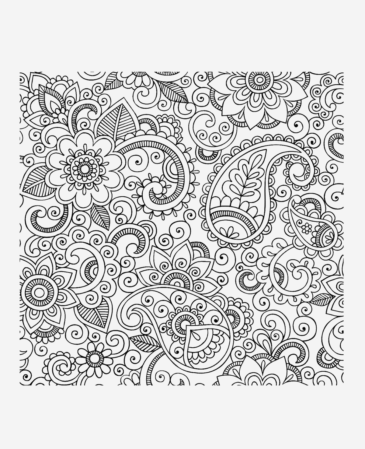 Coloriage Anti Stress Adulte à Imprimer Elegant Art therapy 108 Relaxation – Printable Coloring Pages Of Coloriage Anti Stress Adulte à Imprimer