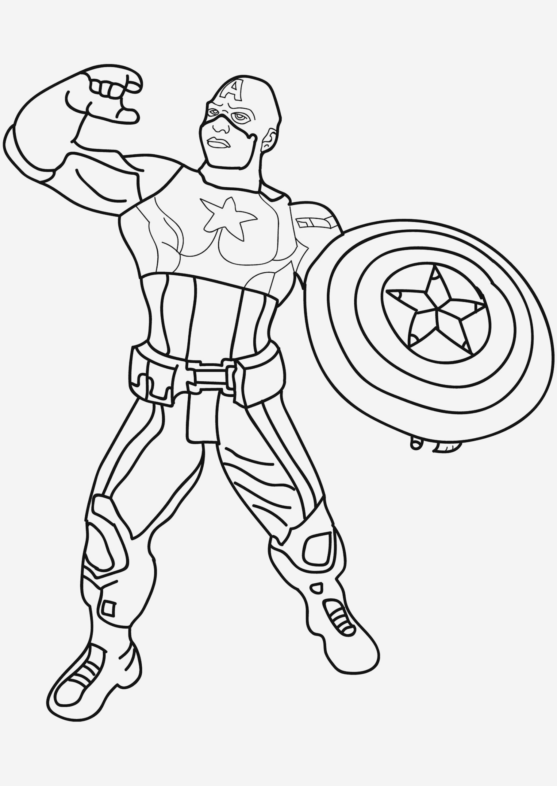 Coloriage Avengers à Imprimer Best Of Ironman and Captain America Coloring Pages Best Of Captain Of Coloriage Avengers à Imprimer