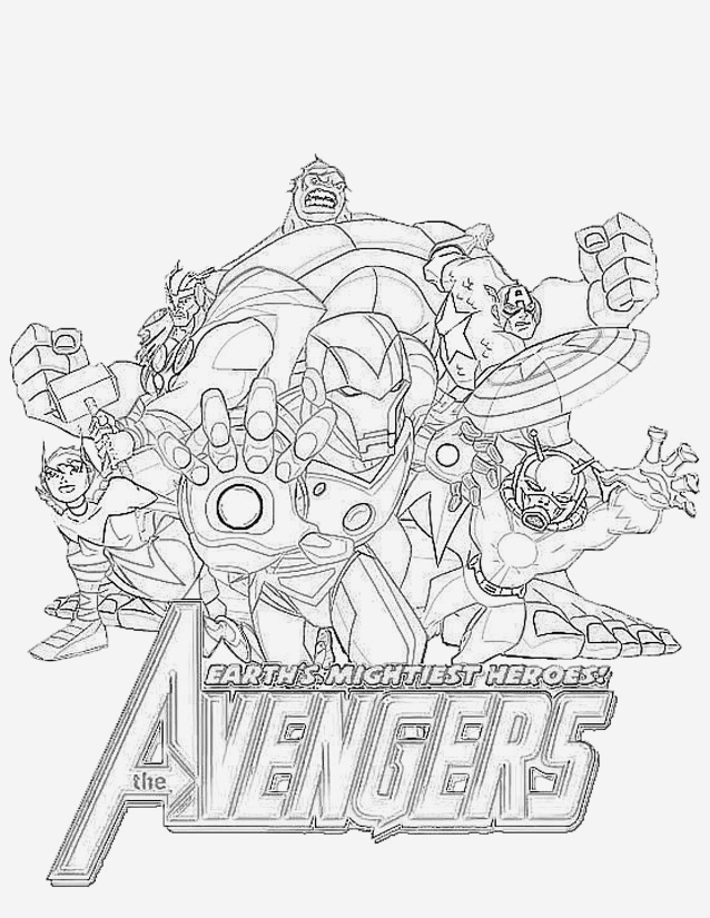 Coloriage Avengers à Imprimer Lovely Avengers 22 Superheroes – Printable Coloring Pages Of Coloriage Avengers à Imprimer