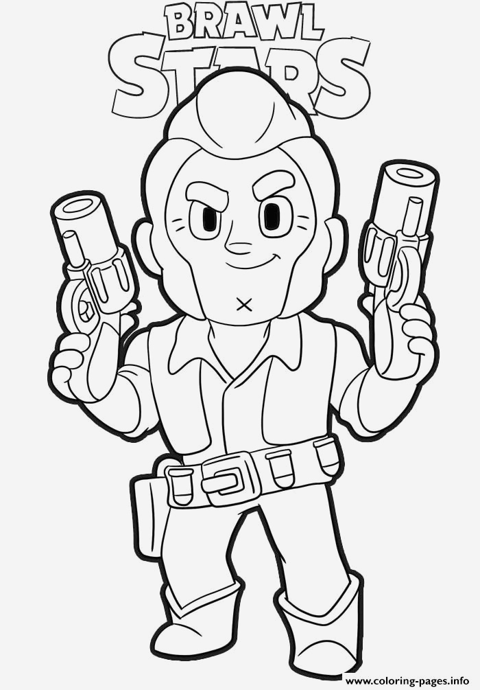 Coloriage Brawl Stars Corbac Beautiful Colt Ready Brawl Stars Coloring Pages Printable Of Coloriage Brawl Stars Corbac