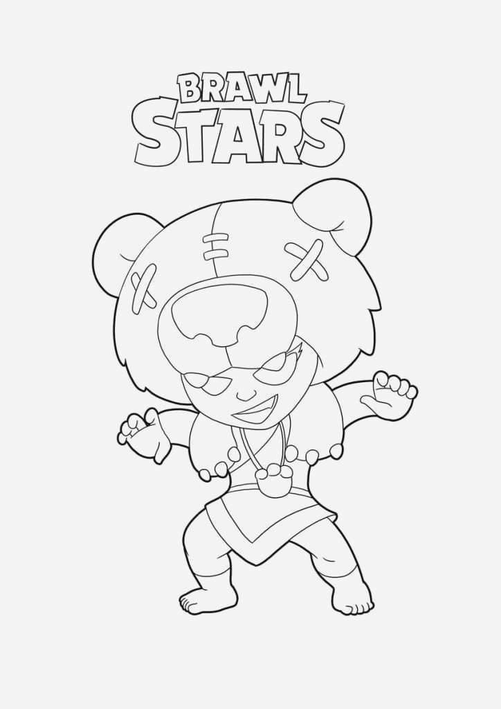 Coloriage Brawl Stars Corbac Fresh Coloriage Brawl Stars Imprimer Gratuitement 100 Images Of Coloriage Brawl Stars Corbac