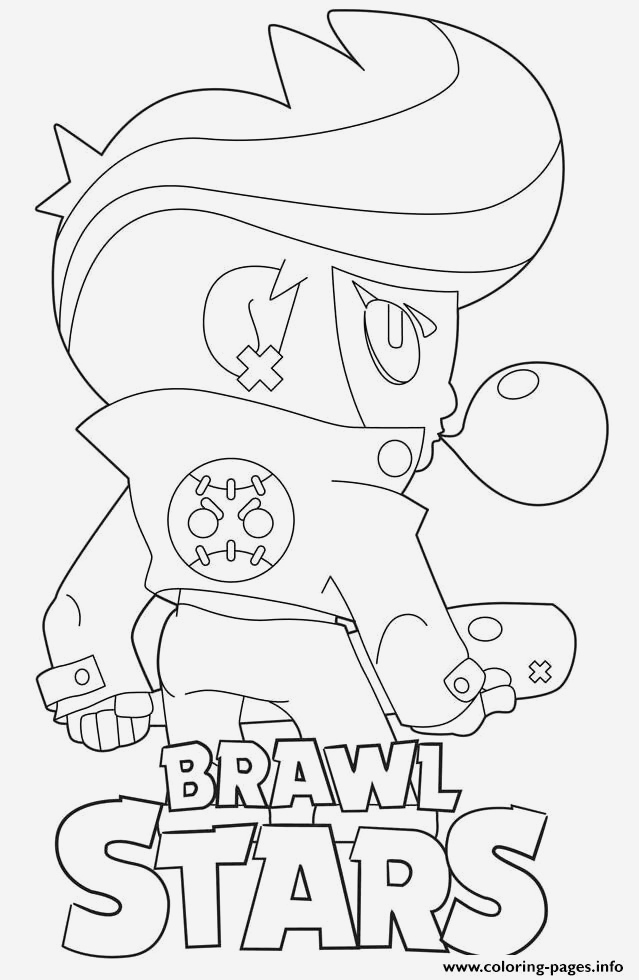 Coloriage Brawl Stars Corbac Luxury Brawl Stars Bibiback Coloring Pages Printable Of Coloriage Brawl Stars Corbac