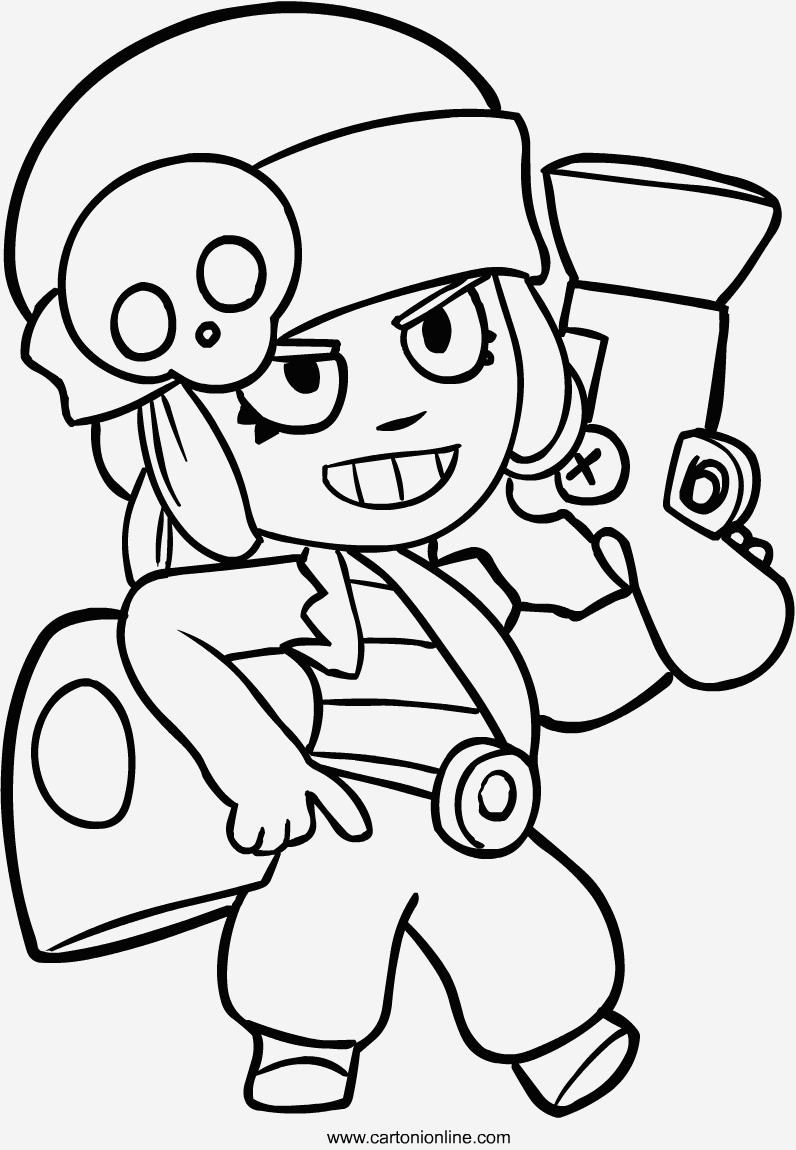 Coloriage Brawl Stars Corbac Luxury Coloriage Brawl Stars Color Of Coloriage Brawl Stars Corbac