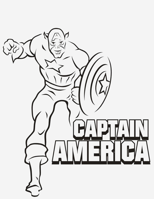 Coloriage Captain America Awesome Coloriage Captain America Personnalisé Dessin Gratuit   Imprimer Of Coloriage Captain America