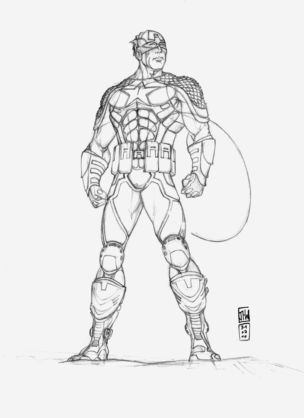 Coloriage Captain America Fresh 128 Dessins De Coloriage Captain America   Imprimer Of Coloriage Captain America