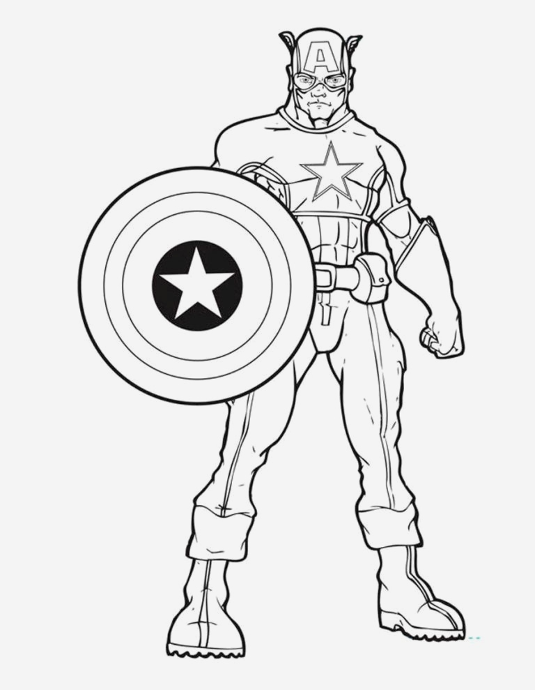 Coloriage Captain America New Captan Amerika Ausmalbilder 4789 Captainamerica Disney Of Coloriage Captain America