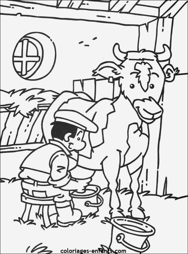 Coloriage D Animaux De Vache Best Of Coloriages De La Traite Des Vaches Of Coloriage D Animaux De Vache
