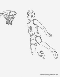 Coloriage De Basketball à Imprimer Gratuit Beautiful Coloriage Basketball Coloriages Coloriage   Imprimer