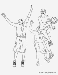 Coloriage De Basketball à Imprimer Gratuit Fresh Coloriage Basketball Coloriages Coloriage   Imprimer