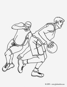 Coloriage De Basketball à Imprimer Gratuit Inspirational Coloriage Basketball Coloriages Coloriage   Imprimer