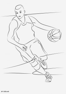 Coloriage De Basketball à Imprimer Gratuit Unique Coloriage Sport Page 12 Of 13 Oh Kids Fr