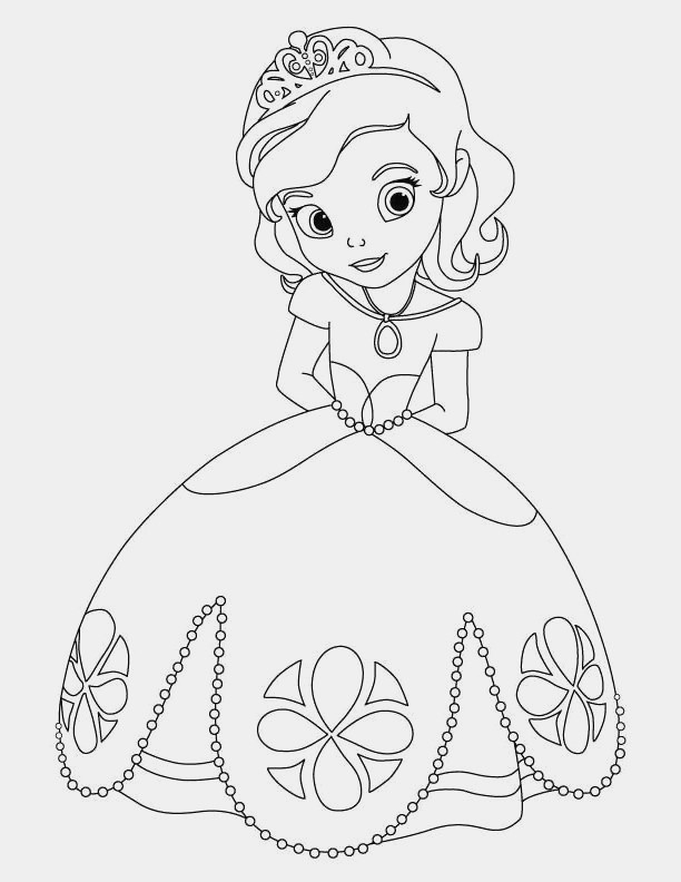 Coloriage De Princesses Disney A Imprimer Best Of Coloriage Princesse sofia Coloriages Gratuits Of Coloriage De Princesses Disney A Imprimer