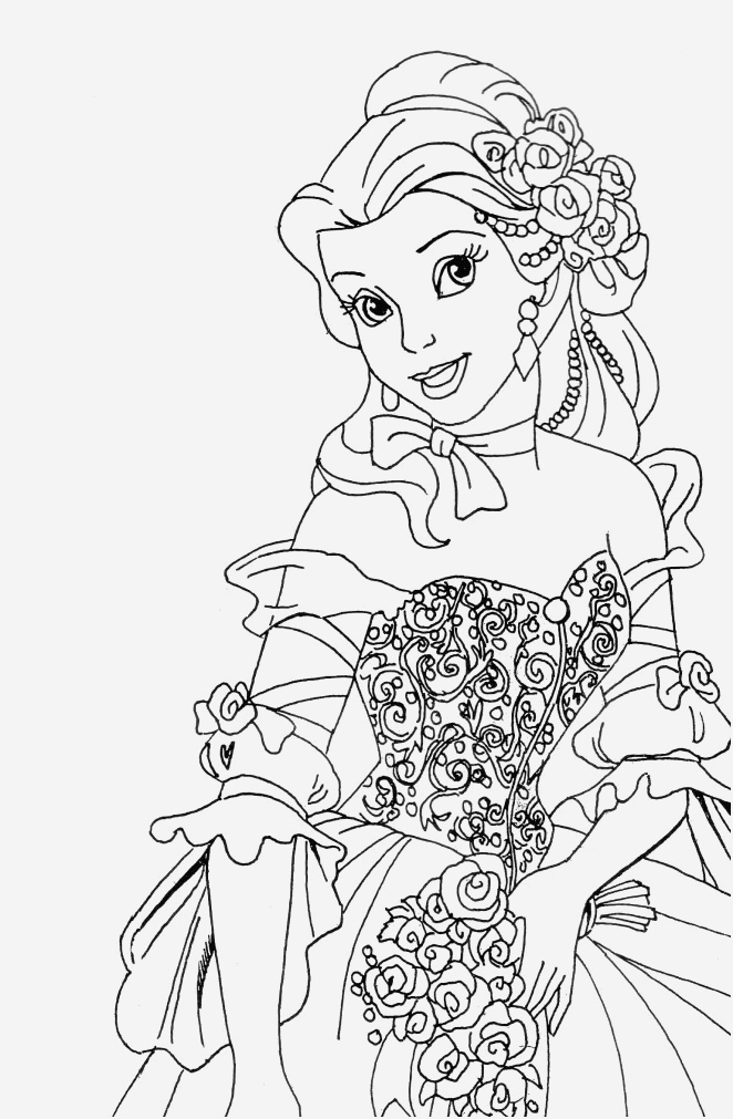Coloriage De Princesses Disney A Imprimer Luxury Coloriage A Imprimer Princesse Of Coloriage De Princesses Disney A Imprimer