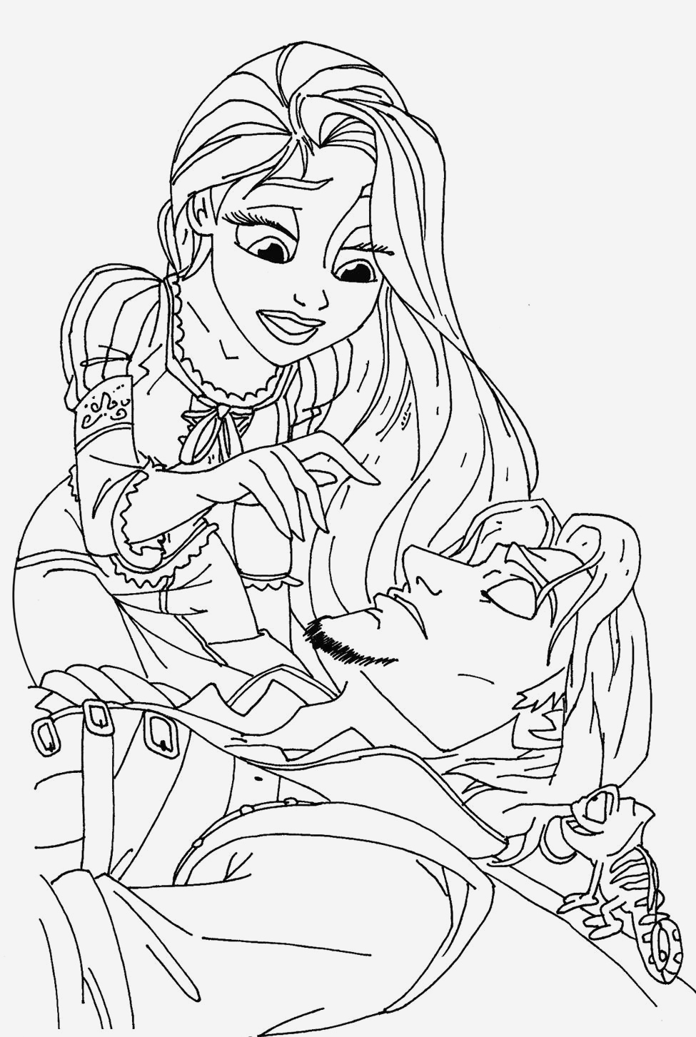 Coloriage De Princesses Disney A Imprimer Luxury Dessin A Imprimer Princesse Disney Gratuit Of Coloriage De Princesses Disney A Imprimer
