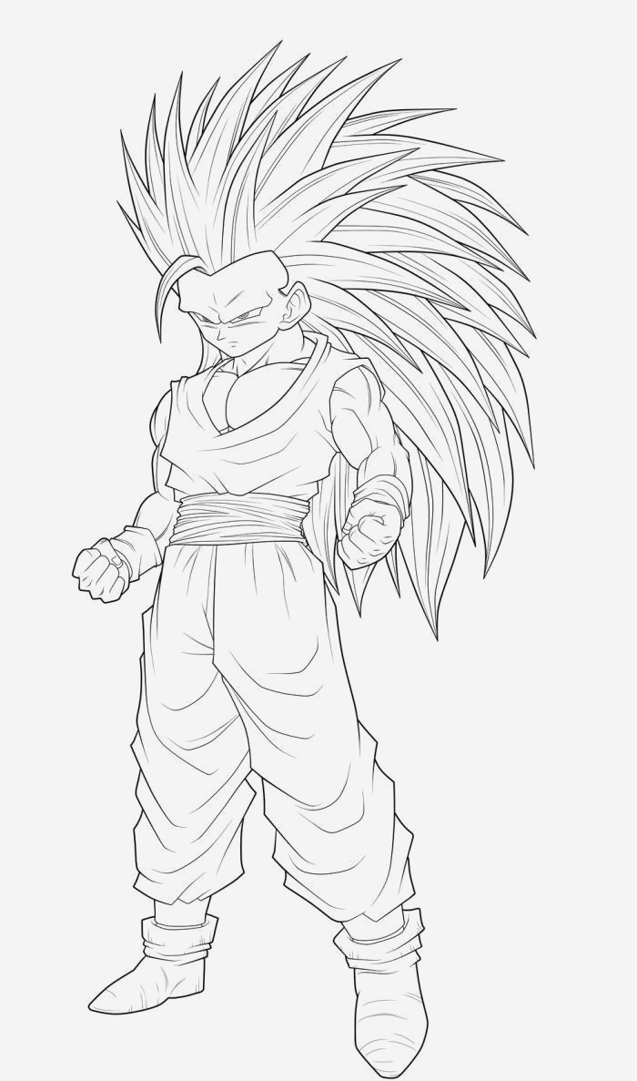 Coloriage Dragon Ball Z Super Saiyan A Imprimer Fresh Free Free Coloring Pages Goku Super Saiyan 3 Download Of Coloriage Dragon Ball Z Super Saiyan A Imprimer