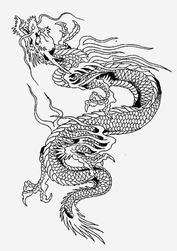Coloriage Dragon Chinois Elegant Coloriage Dragons Chinois Of Coloriage Dragon Chinois