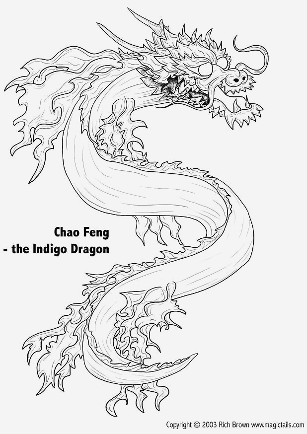 Coloriage Dragon Chinois Luxury Coloriage Dragons Chinois Of Coloriage Dragon Chinois
