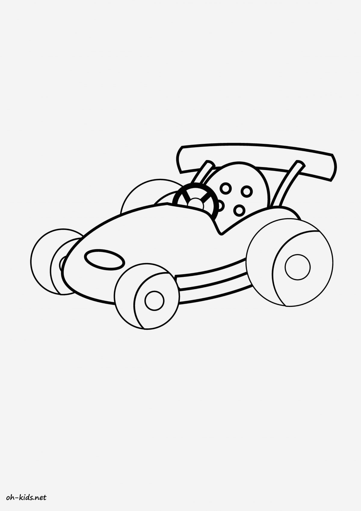 Coloriage Voiture De Course Cars Archives Coloriages Gratuits