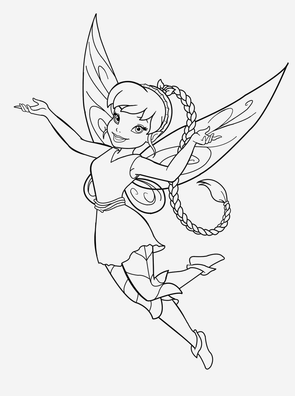 Coloriage Fée Clochette Beautiful Free Printable Fairy Coloring Pages for Kids Of Coloriage Fée Clochette