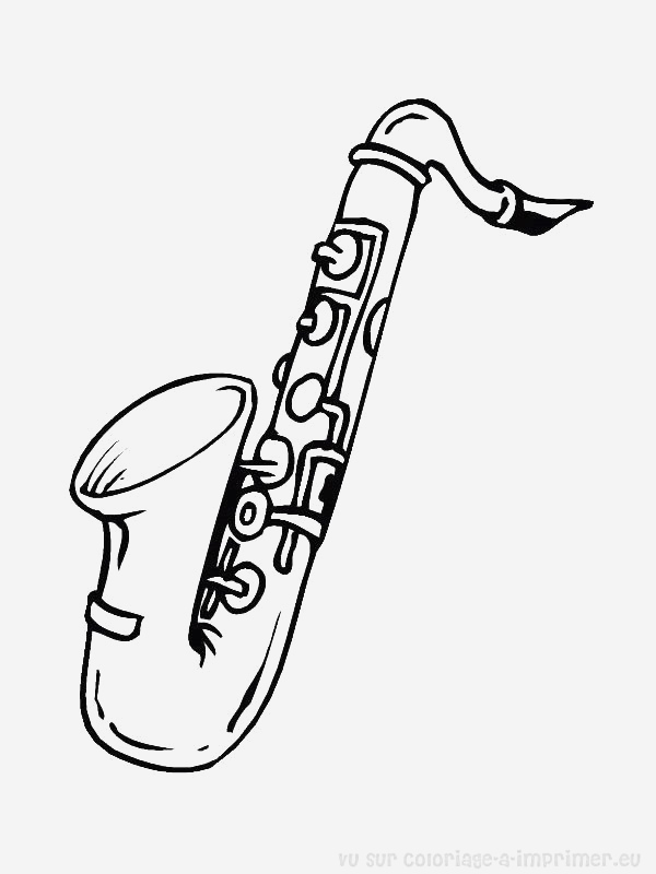 Coloriage Instrument De Musique Lovely Musical Instruments 86 Objects – Printable Coloring Pages Of Coloriage Instrument De Musique