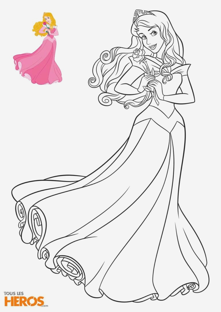 Coloriage La Belle Au Bois Dormant Elegant Coloriage Aurore De La Belle Au Bois Dormant Disney Of Coloriage La Belle Au Bois Dormant