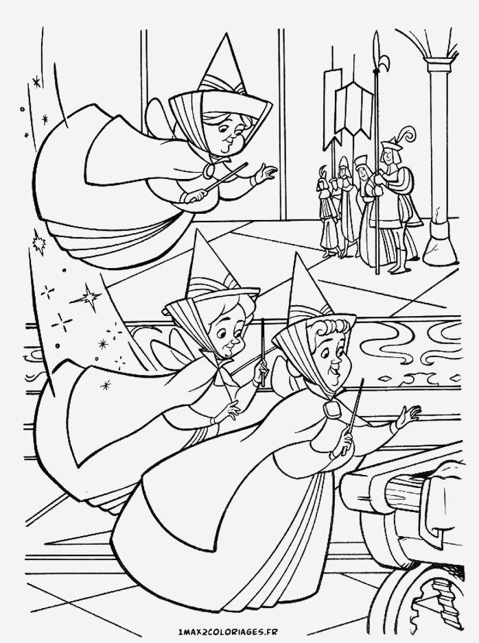 Coloriage La Belle Au Bois Dormant Inspirational Coloriages De La Belle Au Bois Dormant De Walt Disney Les Of Coloriage La Belle Au Bois Dormant
