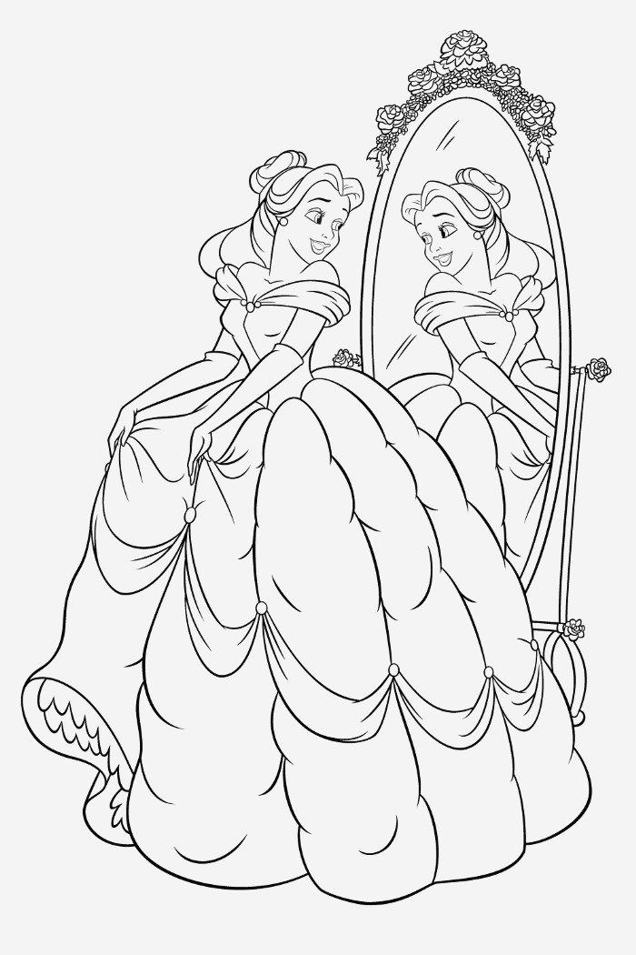 Coloriage La Belle Au Bois Dormant Unique Dessin   Colorier Princesse Belle Au Bois Dormant En Ligne