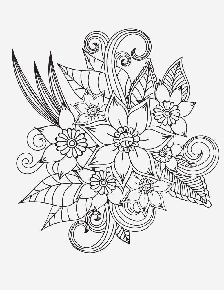 Coloriage Mandala Adulte à Imprimer Lovely Pin On Fabulous Florals Of Coloriage Mandala Adulte à Imprimer