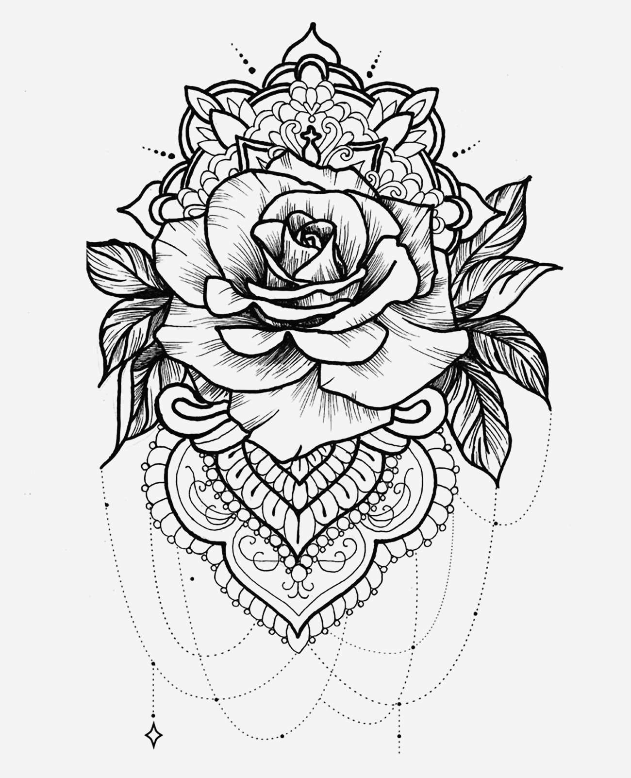 Coloriage Mandala Adulte à Imprimer Luxury Mandala A Telecharger Et Colorier Rose Mandalas Of Coloriage Mandala Adulte à Imprimer
