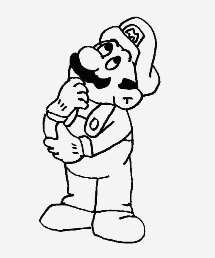 Coloriage Mario Kart Awesome Free Printable Mario Coloring Pages for Kids Of Coloriage Mario Kart