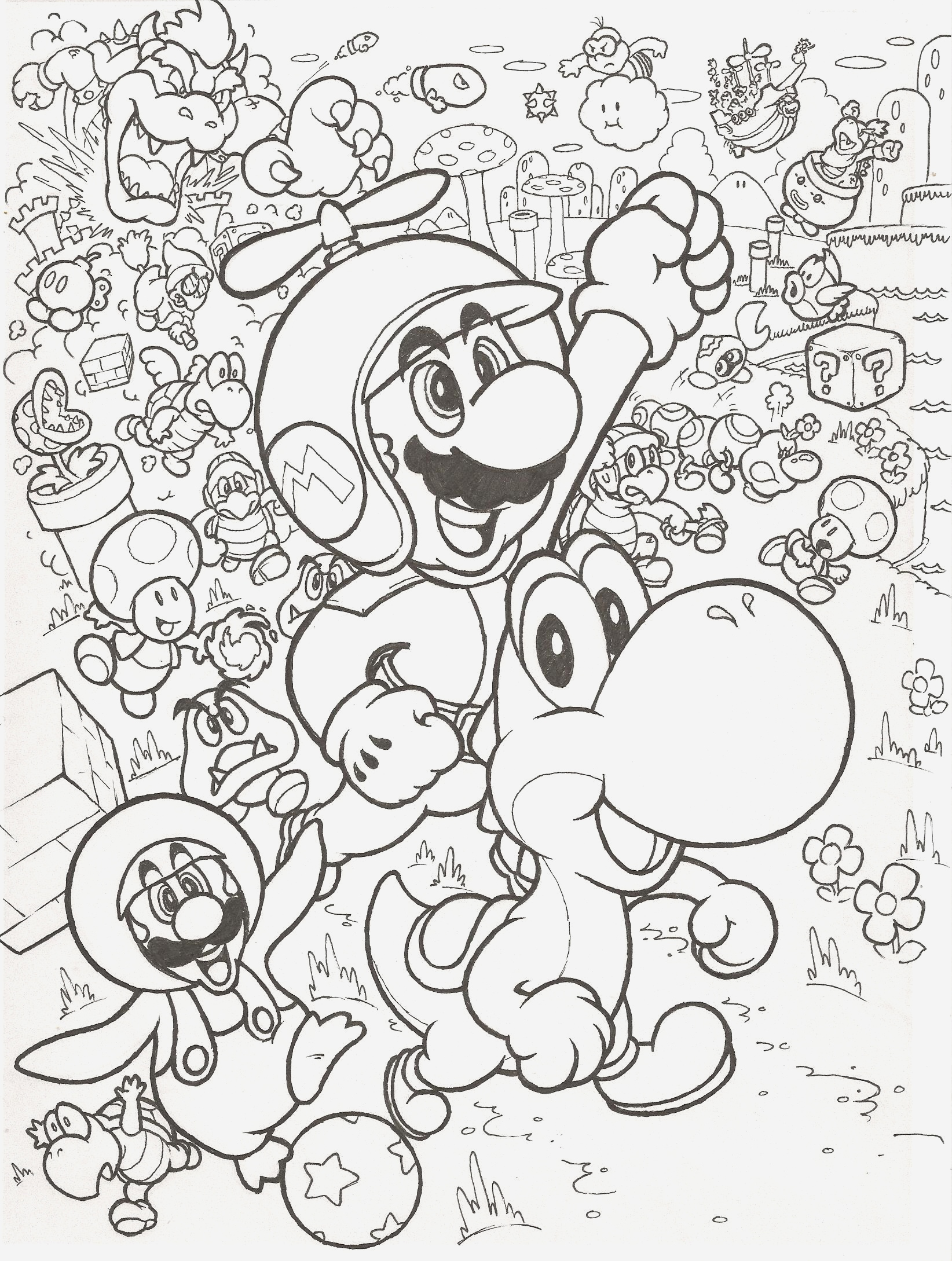 Coloriage Mario Kart New 24 Most Mean Mario Coloring Pages Kart Deluxe Collection Of Coloriage Mario Kart