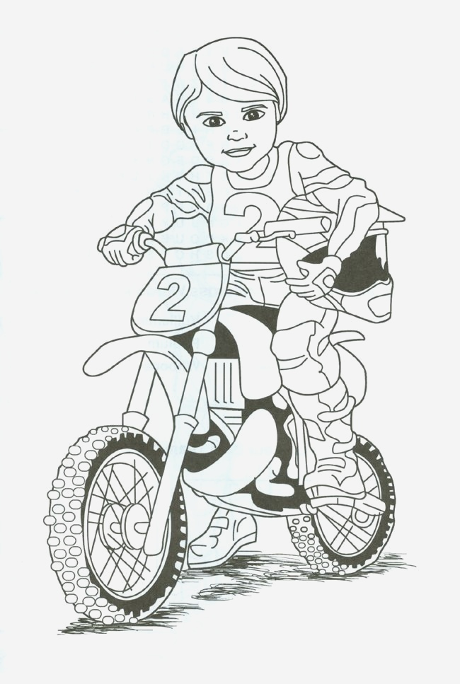 Coloriage Moto Cross à Imprimer Gratuit Awesome Dirt Bike Rider Coloring Page Tina We Cn Print This and Of Coloriage Moto Cross à Imprimer Gratuit