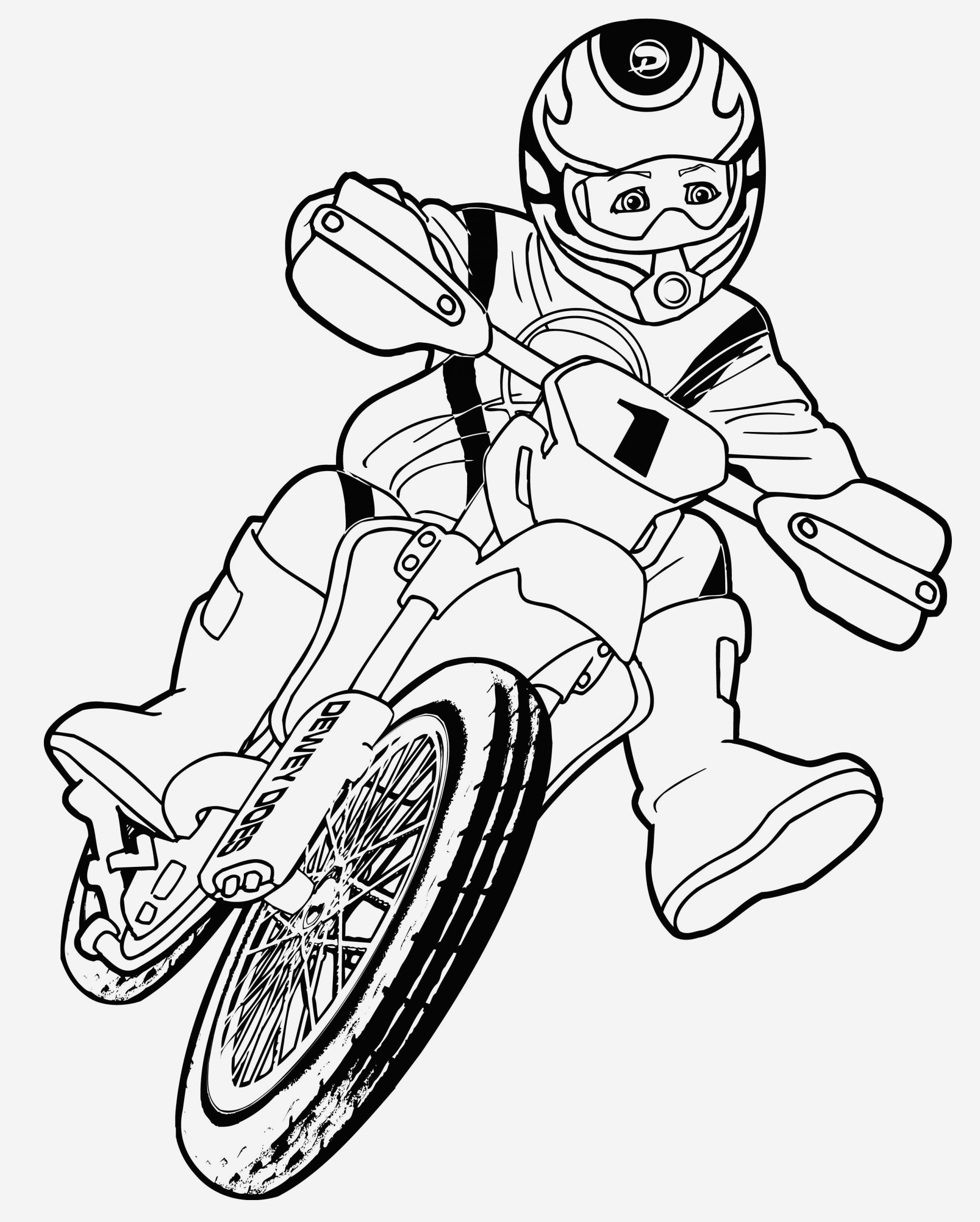 Coloriage Moto Cross à Imprimer Gratuit Beautiful Coloring Page Of Coloriage Moto Cross à Imprimer Gratuit