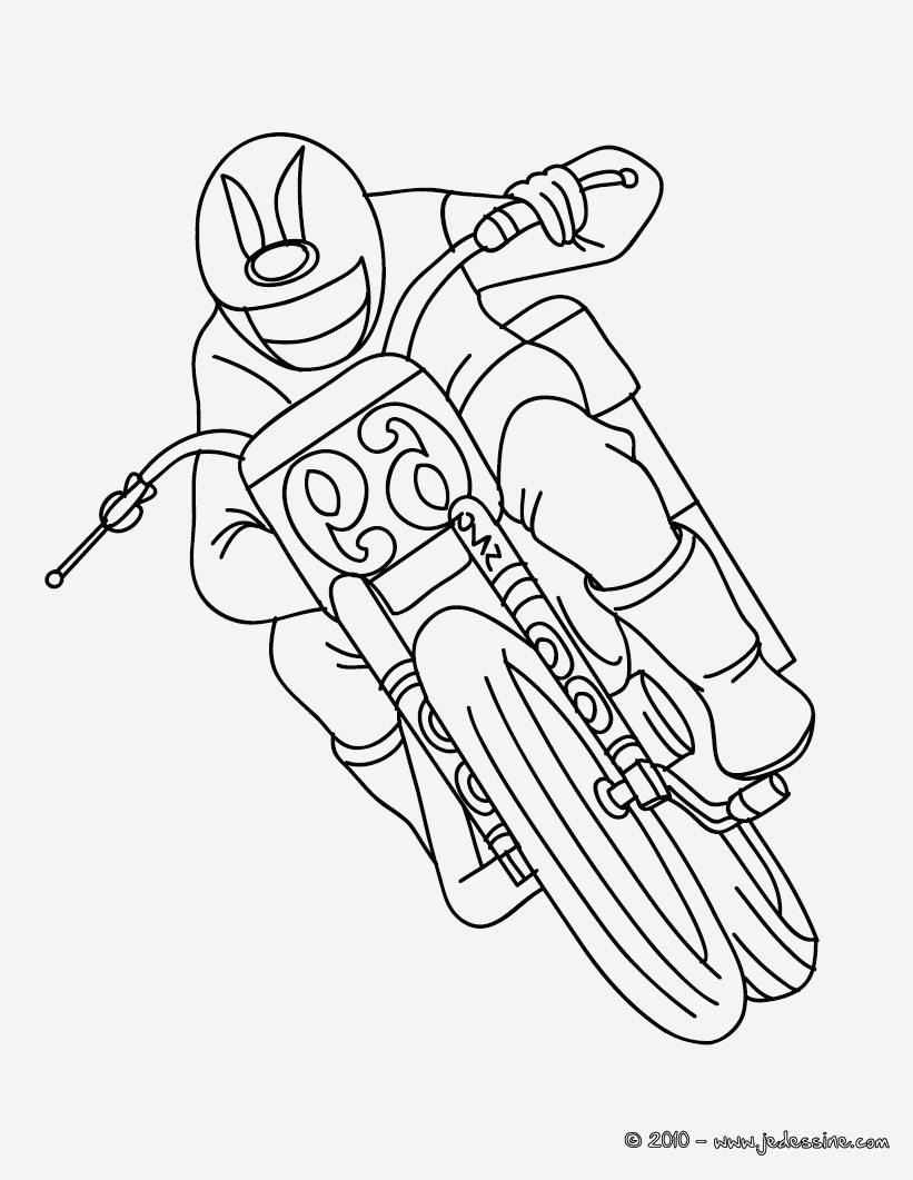 Coloriage Moto Cross à Imprimer Gratuit New Coloriages Coloriage Moto Cross   Imprimer Fr Hellokids Of Coloriage Moto Cross à Imprimer Gratuit