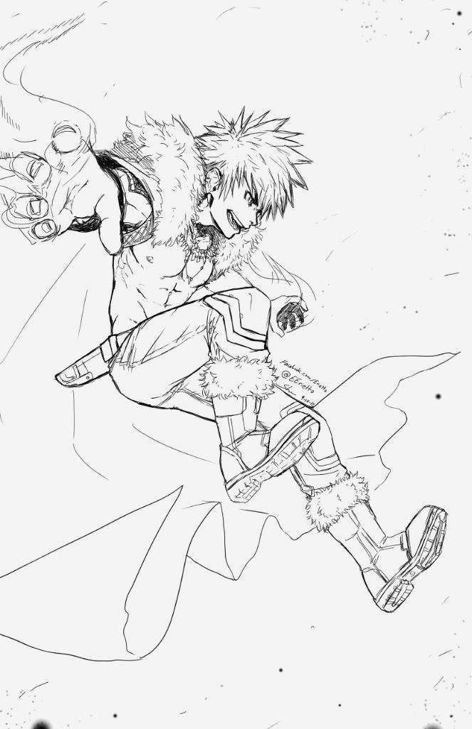 Coloriage My Hero Academia A Imprimer Awesome My Hero Academia Bakugo Coloring Pages Hd Football Of Coloriage My Hero Academia A Imprimer