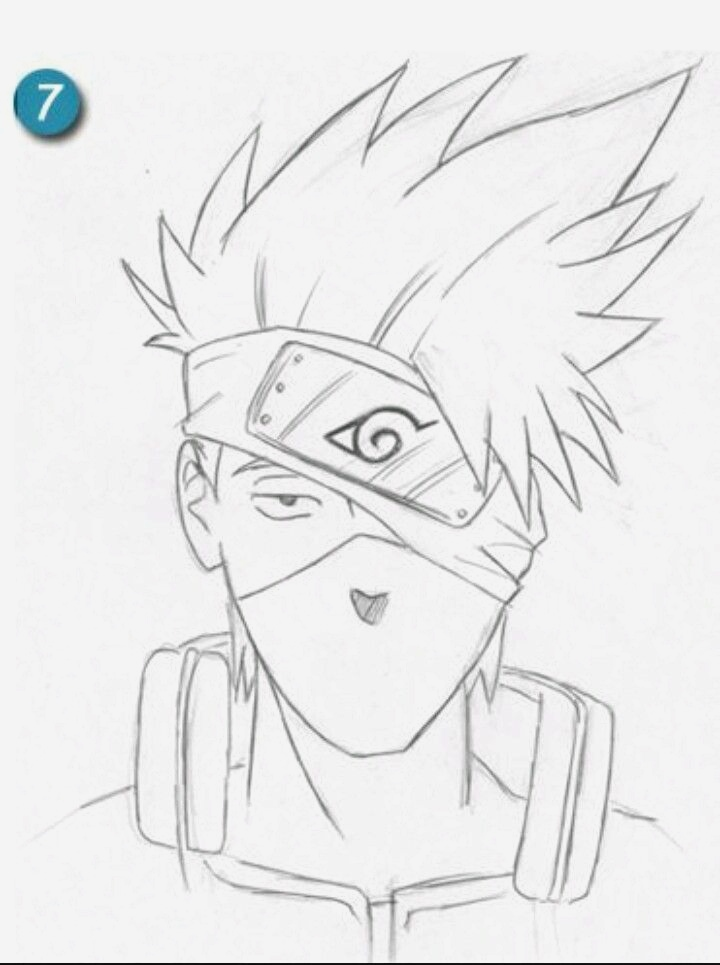 Coloriage Naruto Et Kakashi Beautiful Kakashi Of Coloriage Naruto Et Kakashi