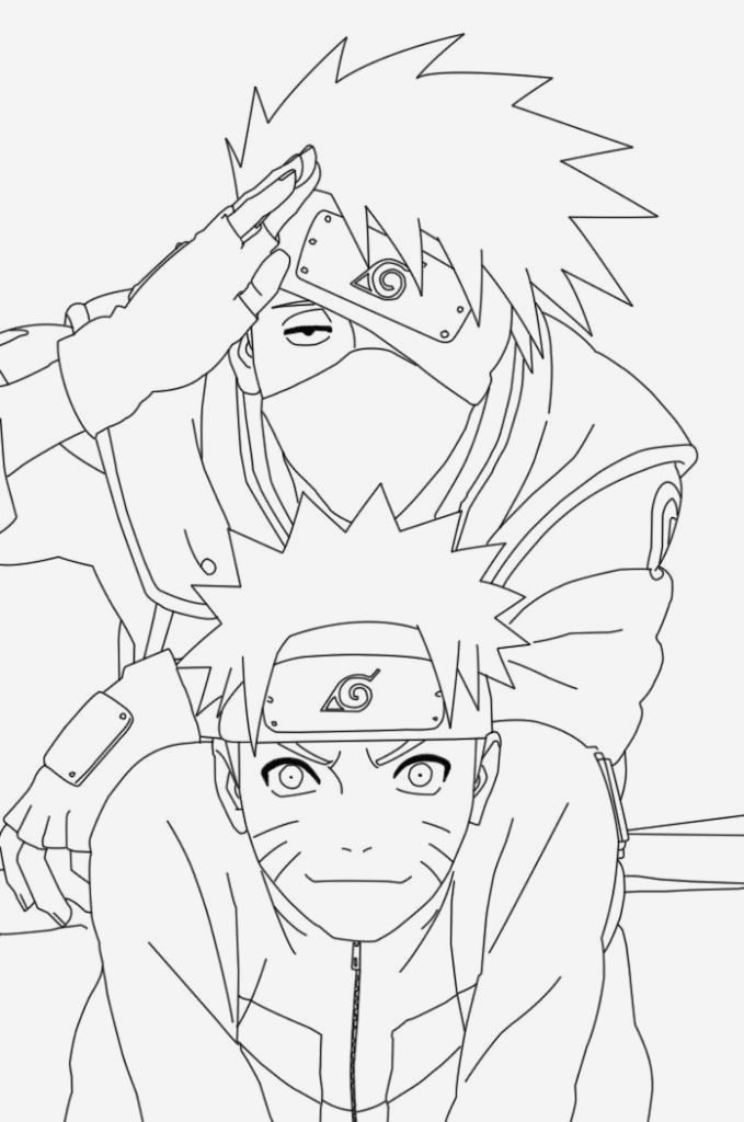 Coloriage Naruto Et Kakashi Elegant Free Printable Naruto Coloring Pages for Kids Of Coloriage Naruto Et Kakashi