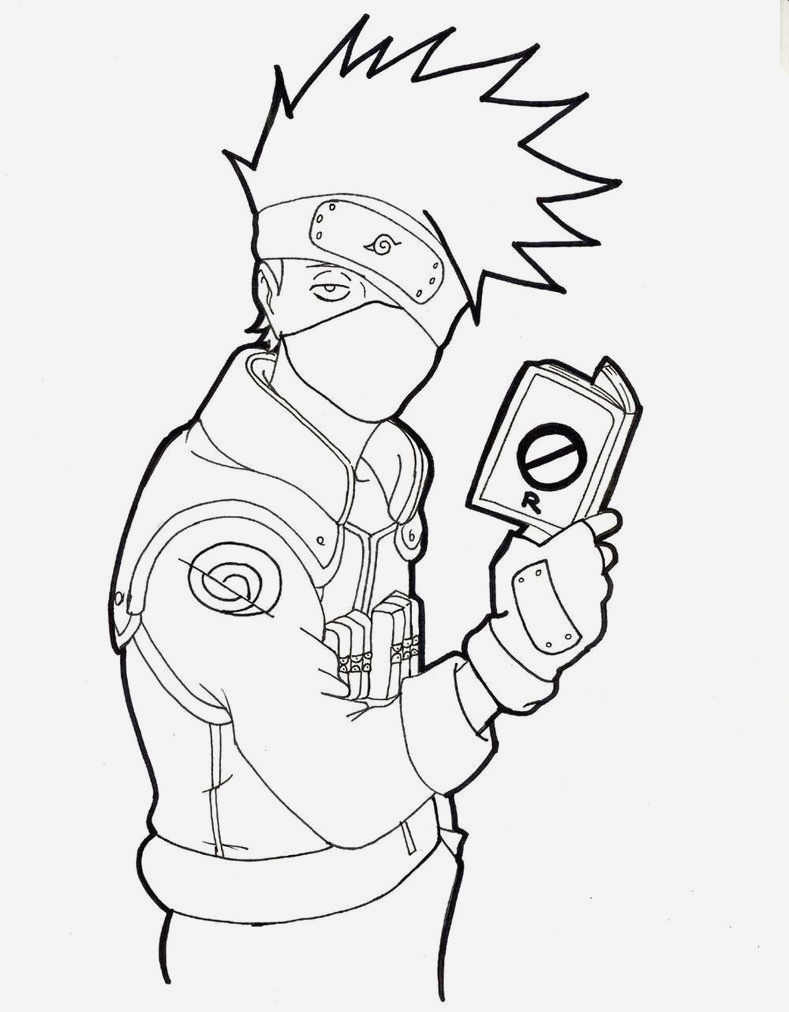 Coloriage Naruto Et Kakashi Lovely Kakashi Drawing Full Body Google Search Of Coloriage Naruto Et Kakashi