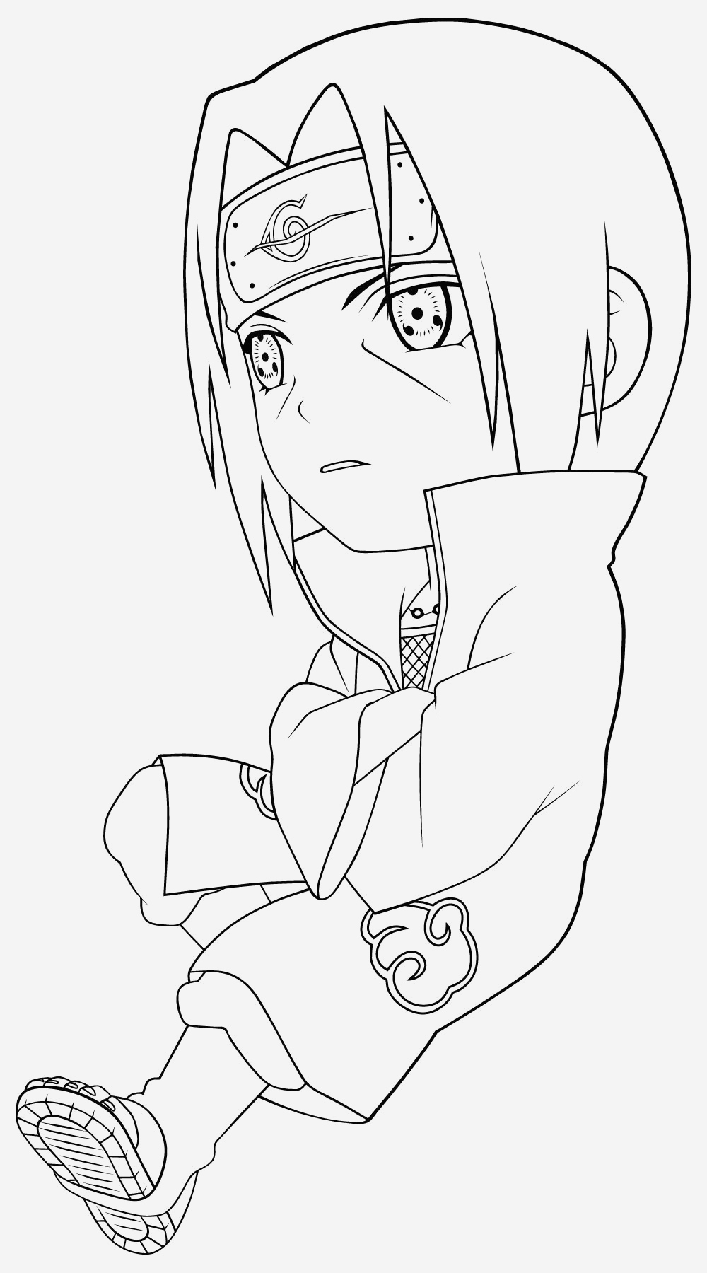Coloriage Naruto Sasuke Fresh the Best Free Naruto Coloring Page Images Download From 358 Of Coloriage Naruto Sasuke
