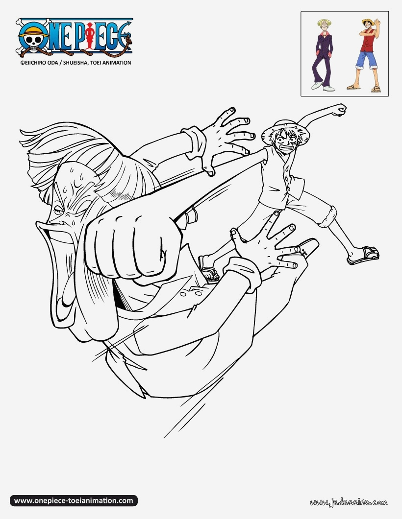 coloriage onepiece luffy frappe hermep c9r umb