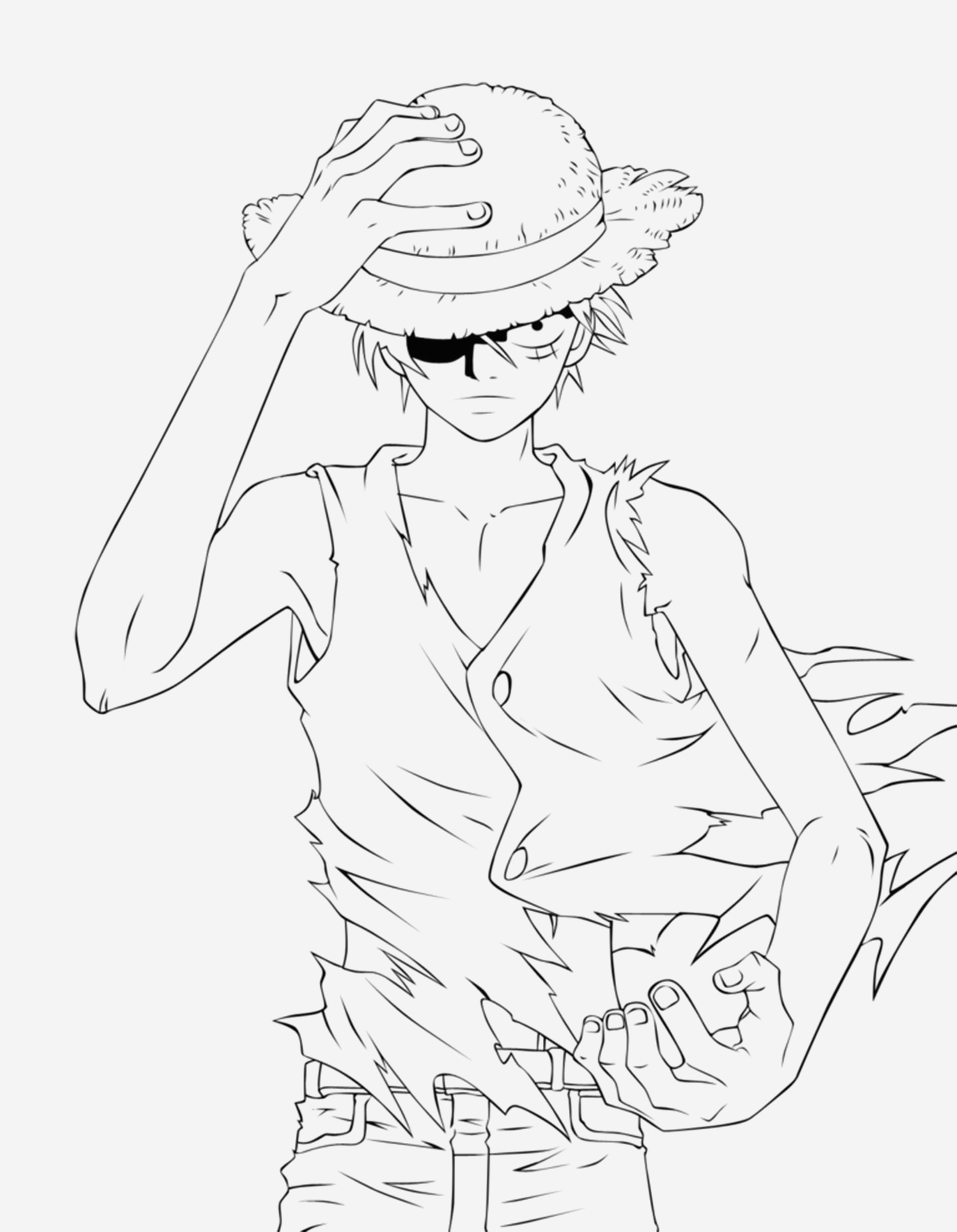 Coloriage One Piece Luffy Beautiful E Piece to Color for Kids E Piece Kids Coloring Pages Of Coloriage One Piece Luffy