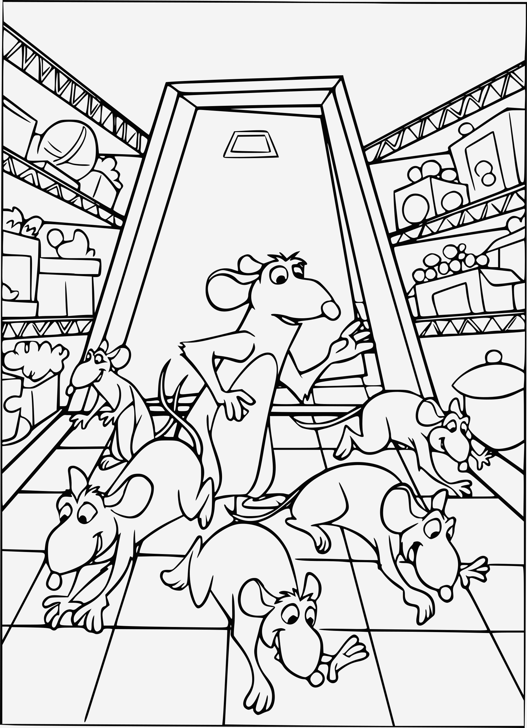 Coloriage Ratatouille Lovely Coloriage Ratatouille Gratuit   Imprimer Of Coloriage Ratatouille