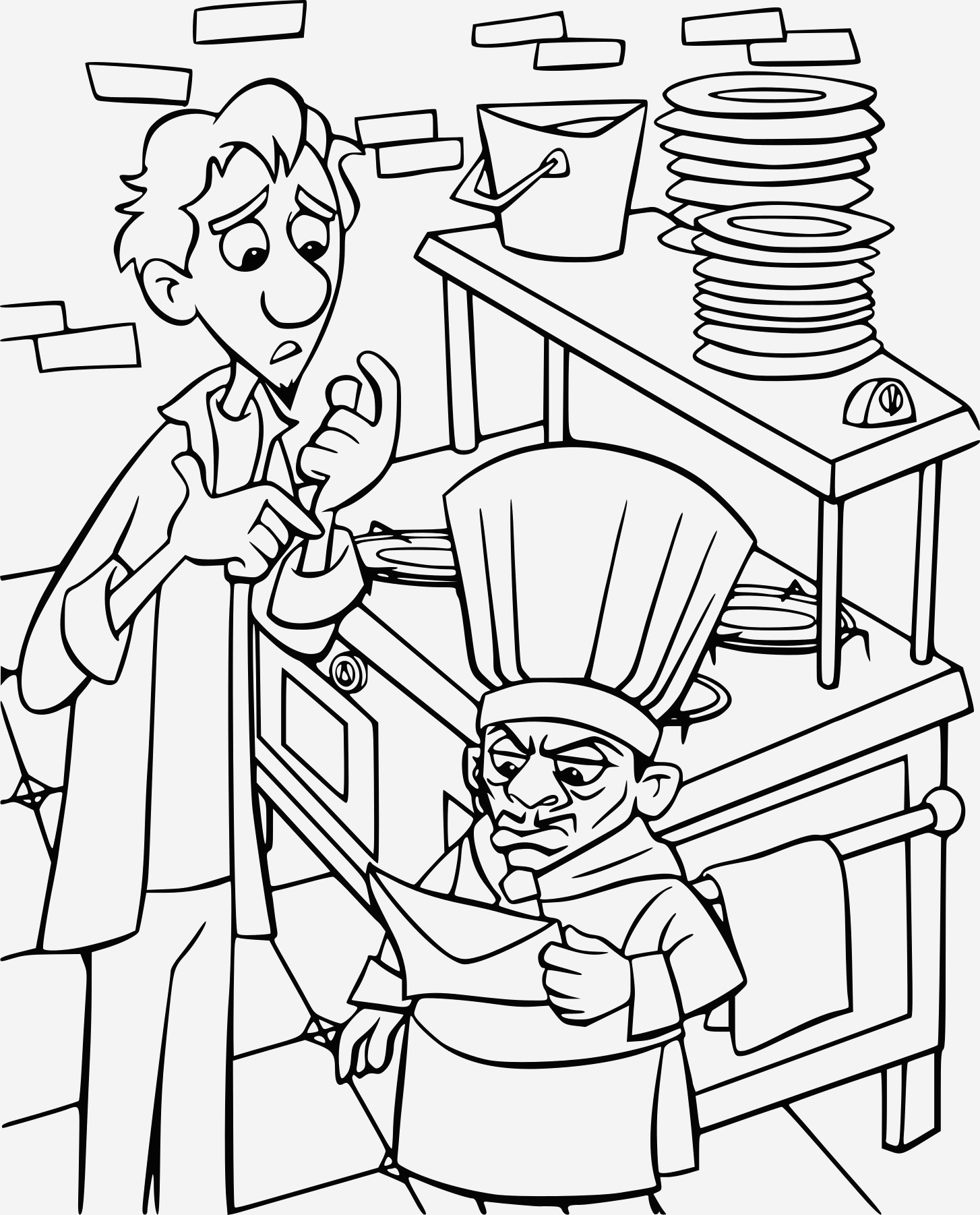 Coloriage Ratatouille New Coloriage Ratatouille Skinner   Imprimer Of Coloriage Ratatouille