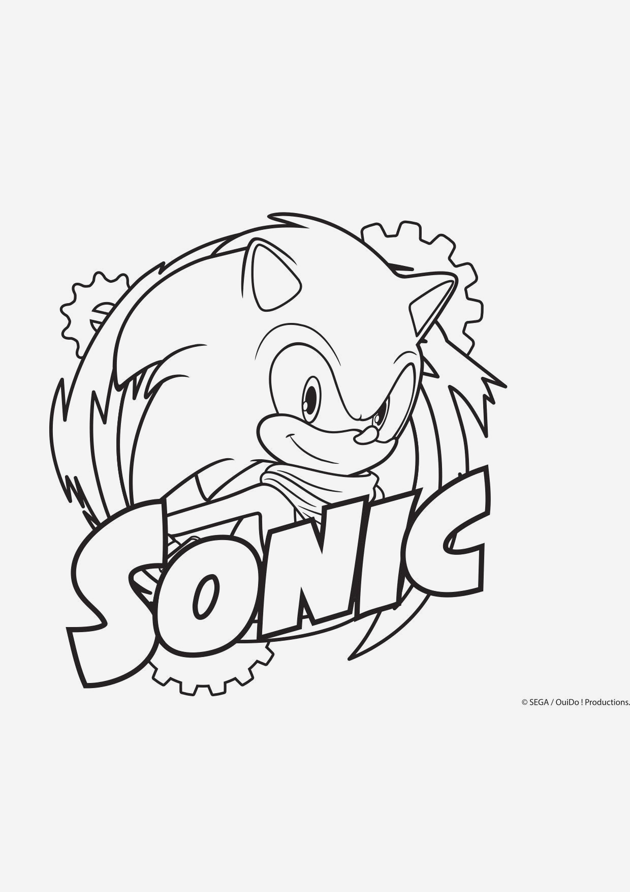 Coloriage sonic Le Film Awesome Coloriage sonic Coloriage sonic Boom Coloriages Dessins Of Coloriage sonic Le Film