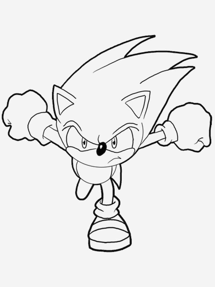 Coloriage Sonic Noel Archives Coloriages Gratuits