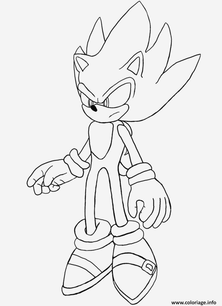 Coloriage sonic Le Film Beautiful Coloriage sonic 29 Jecolorie Of Coloriage sonic Le Film