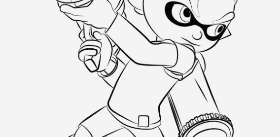 Coloriage Splatoon New Squid Splatoon 2 Coloring Pages