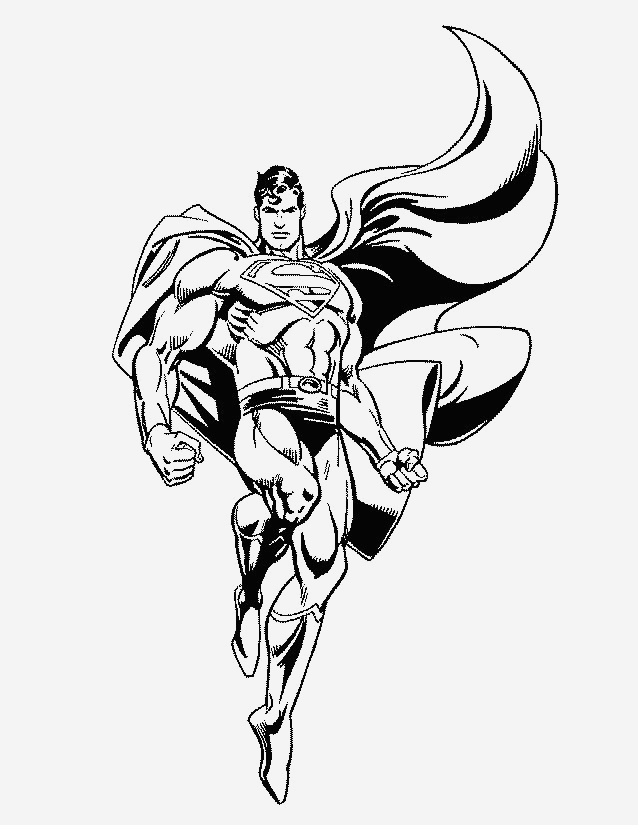 Coloriage Superman à Imprimer Gratuit Awesome Coloriage Superman   Imprimer Gratuitement Of Coloriage Superman à Imprimer Gratuit