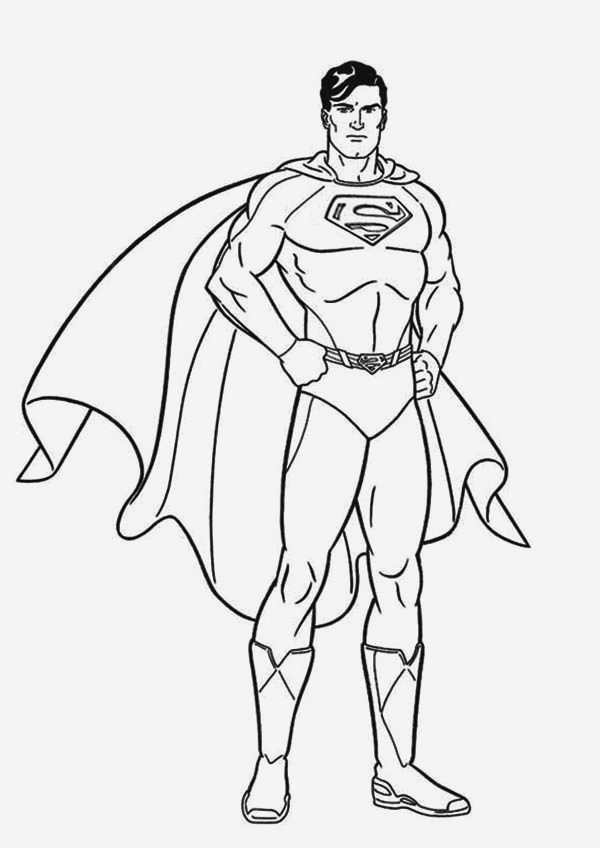 Coloriage Superman à Imprimer Gratuit Beautiful Printable Superman Coloring Pages Idea Of Coloriage Superman à Imprimer Gratuit